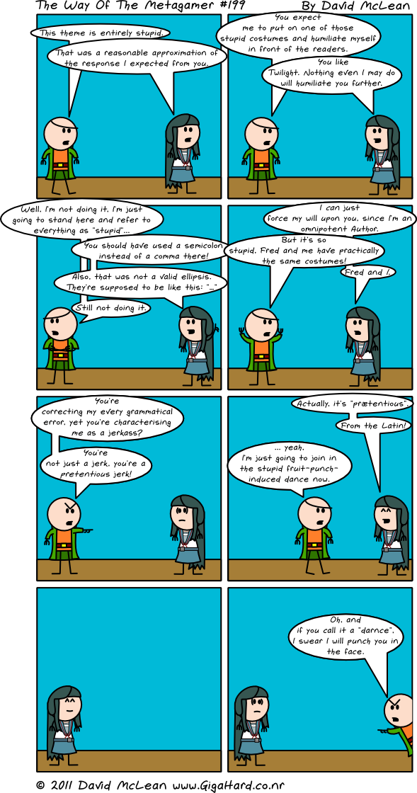 Prætention: The Webcomic
