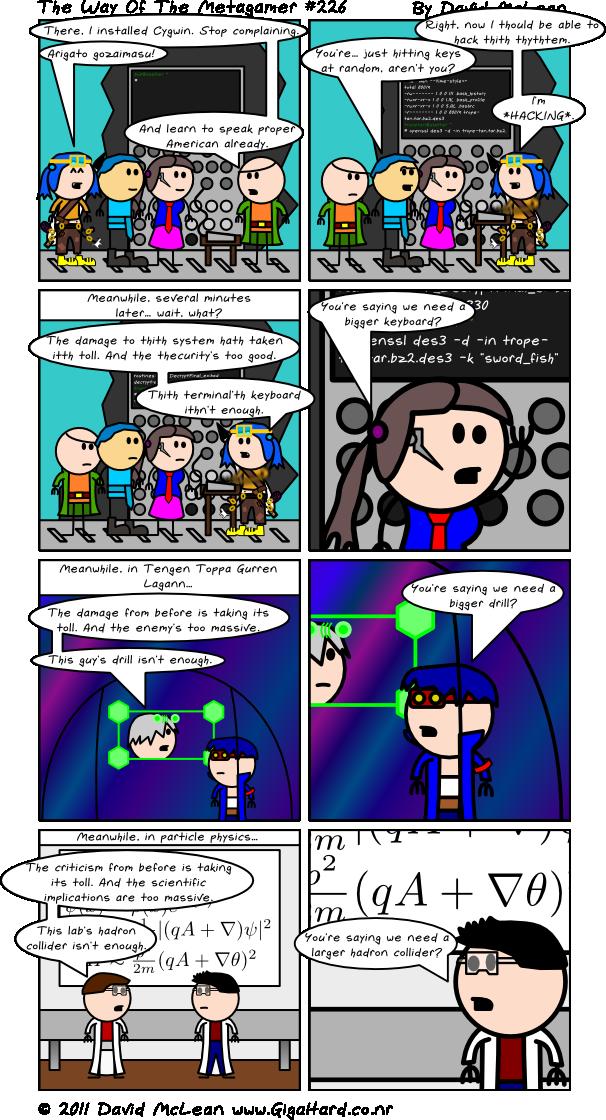 We Need A Bigger Webcomic